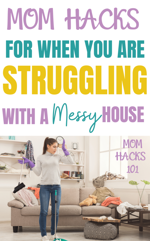 cleaning hacks for moms