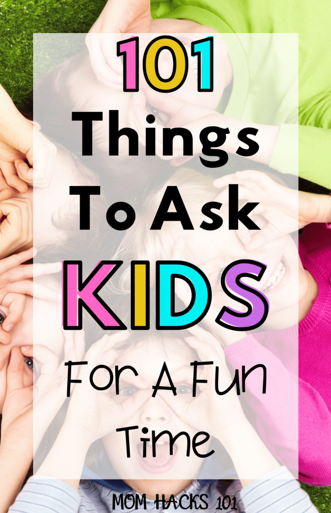 Kid Interview Questions