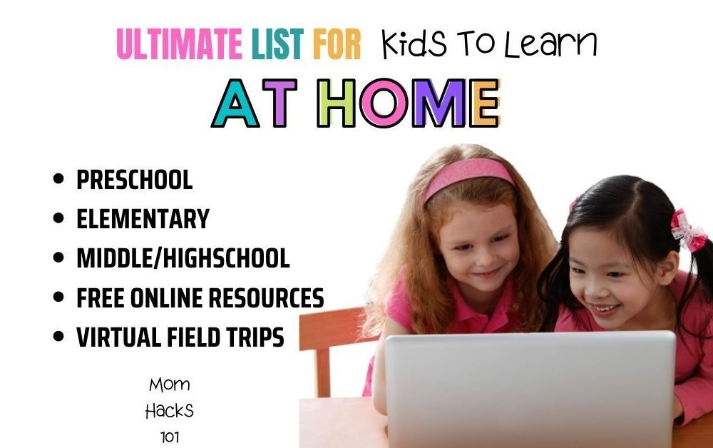 Free Ways For Kids To Learn At Home