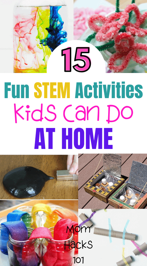 STEM Activities For Kids To Do At Home