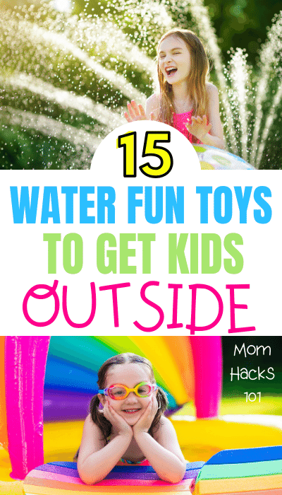 Backyard Water Fun For Kids
