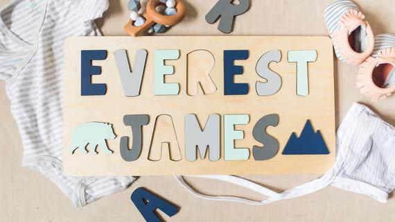 Wooden Name Puzzle