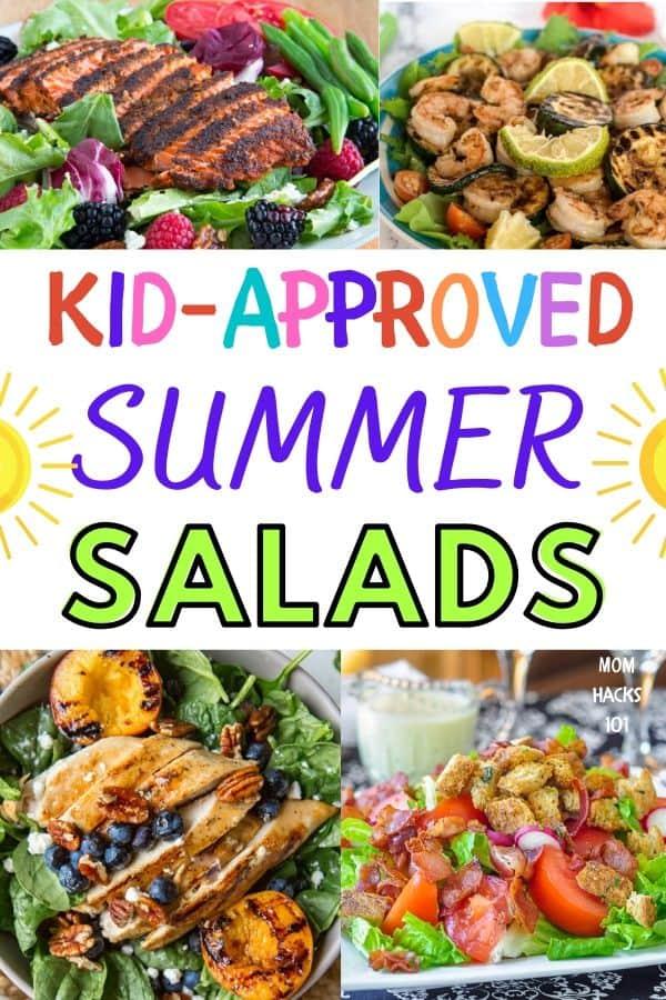 Kid-friendly salads