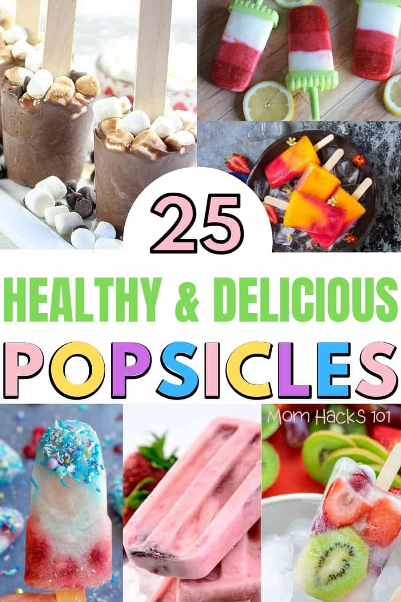 Healthy Homemade Popsicles For Kids