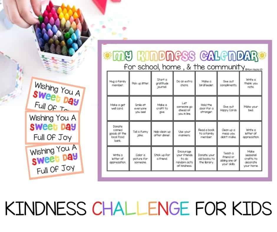 Kindness Challenge For Kids