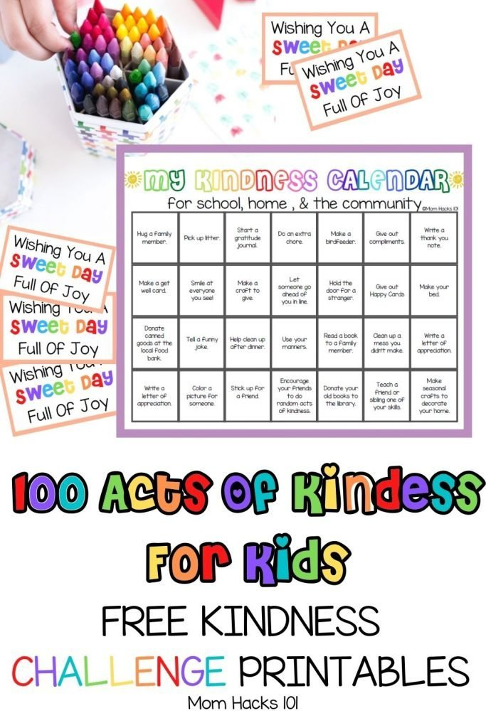 Acts of Kindness For Kids