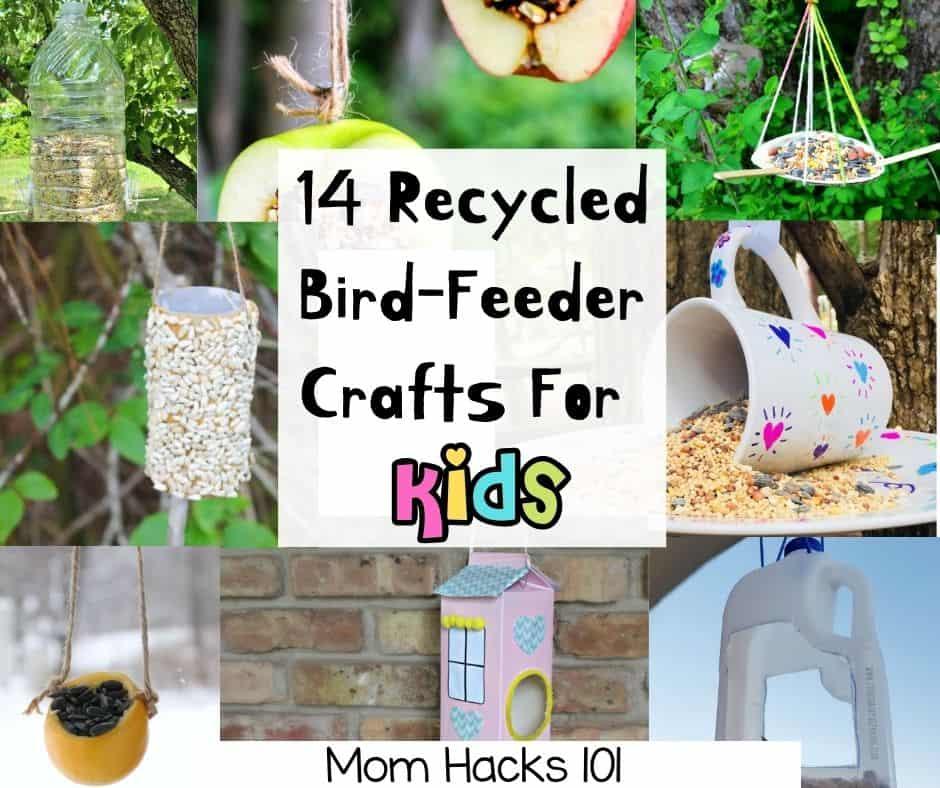 Bird Feeder Crafts For Kids