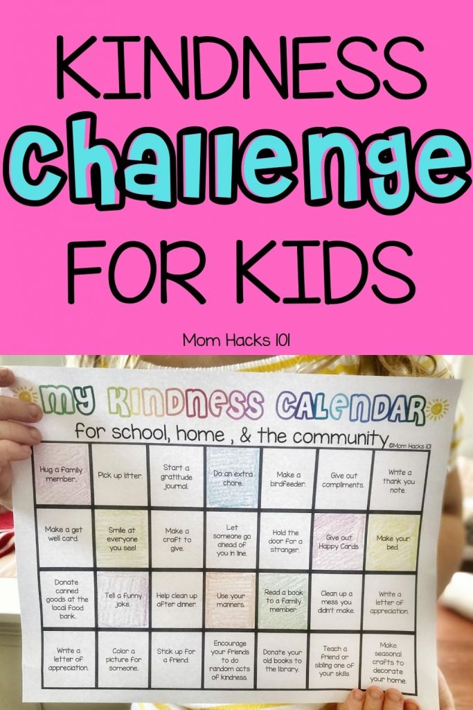Kindness Challenge For Kids