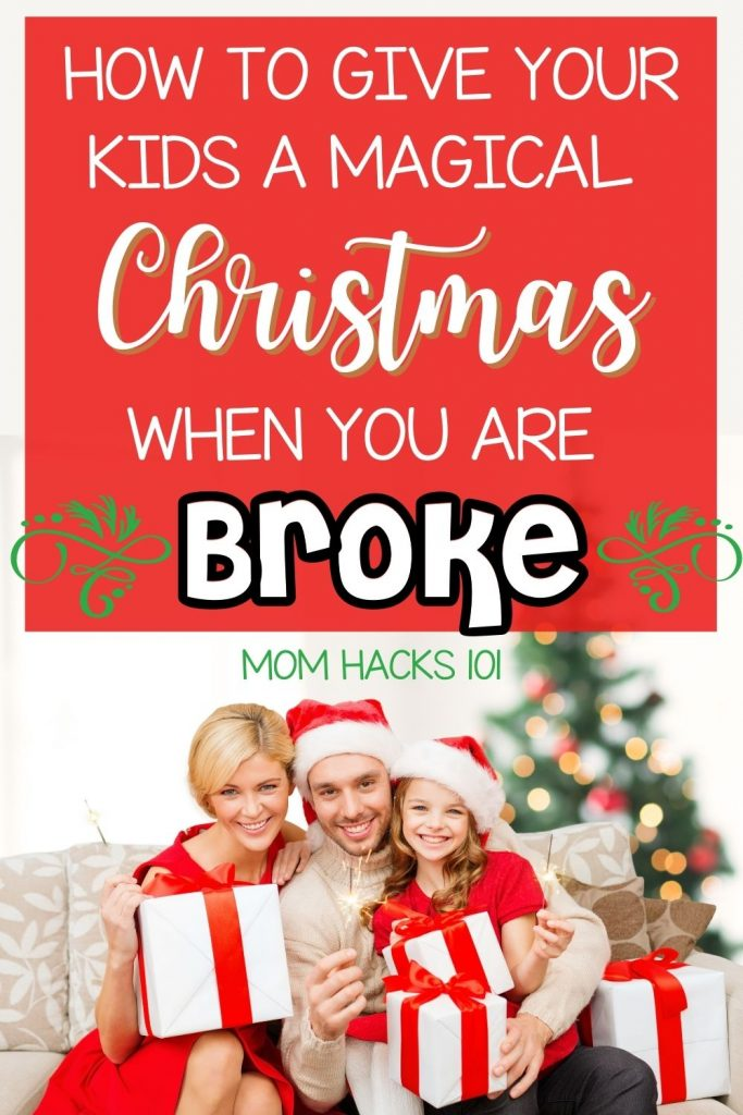 How to afford Christmas when broke
