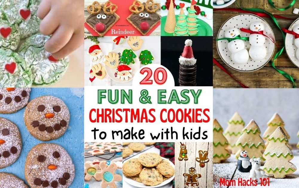 Easy Christmas Cookie Recipes To Make With Kids