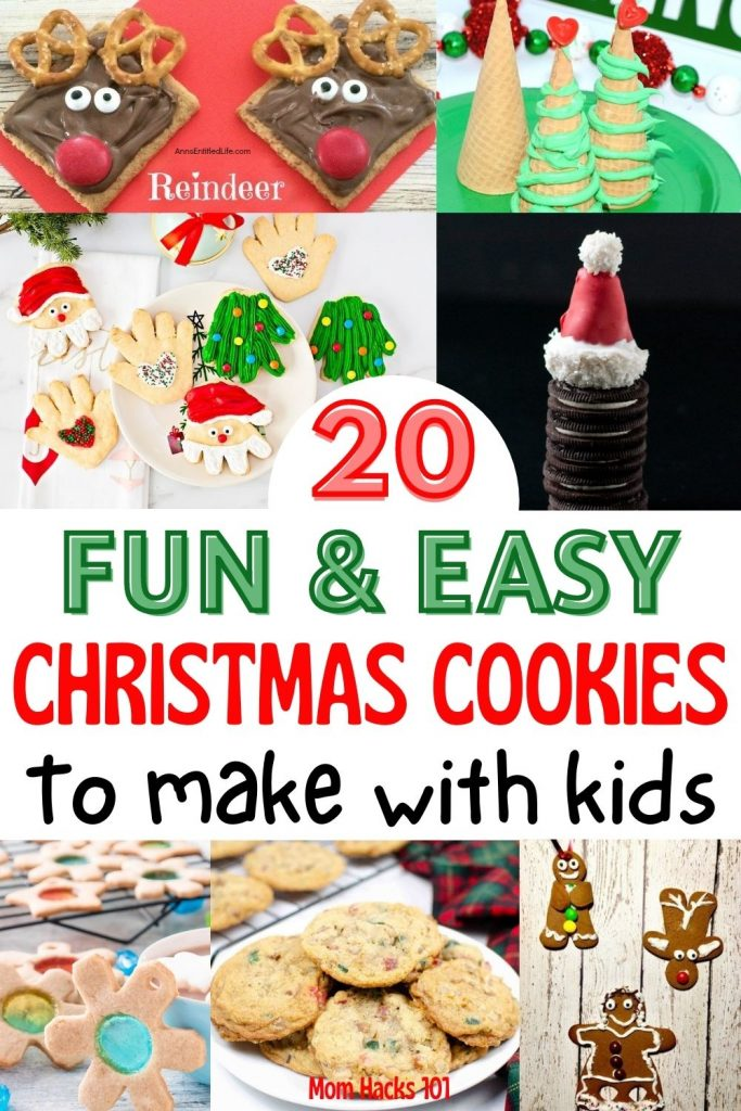 Kid Friendly Christmas Cookie Recipes