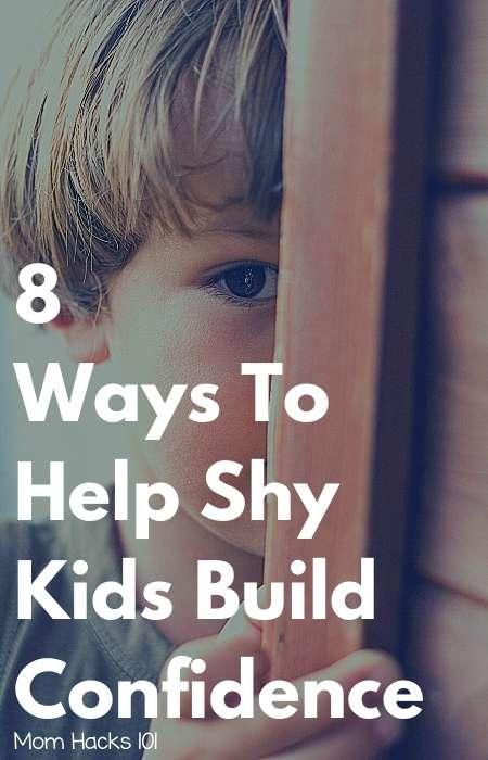 shy kids